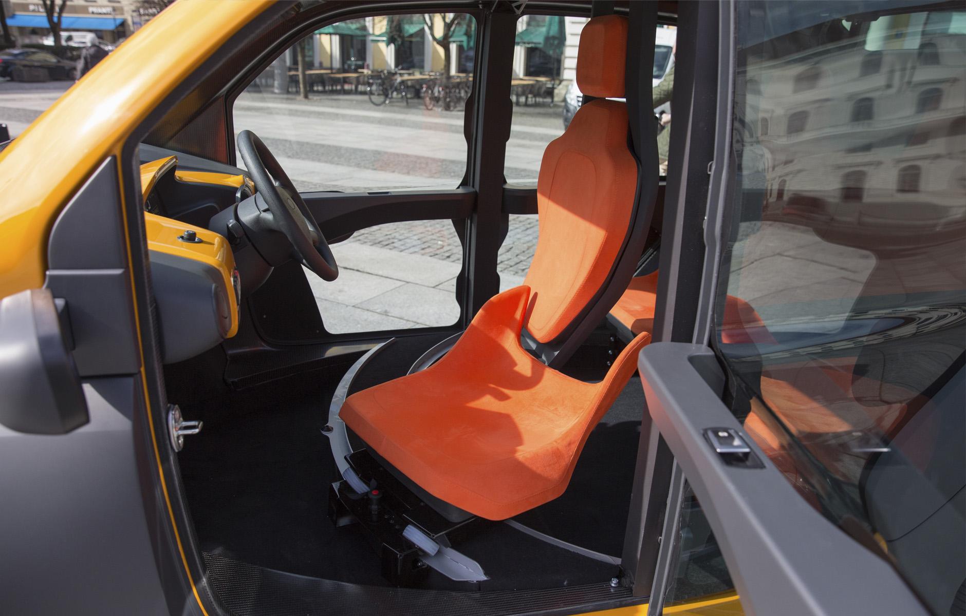 ACM CITY Fahrersitz
