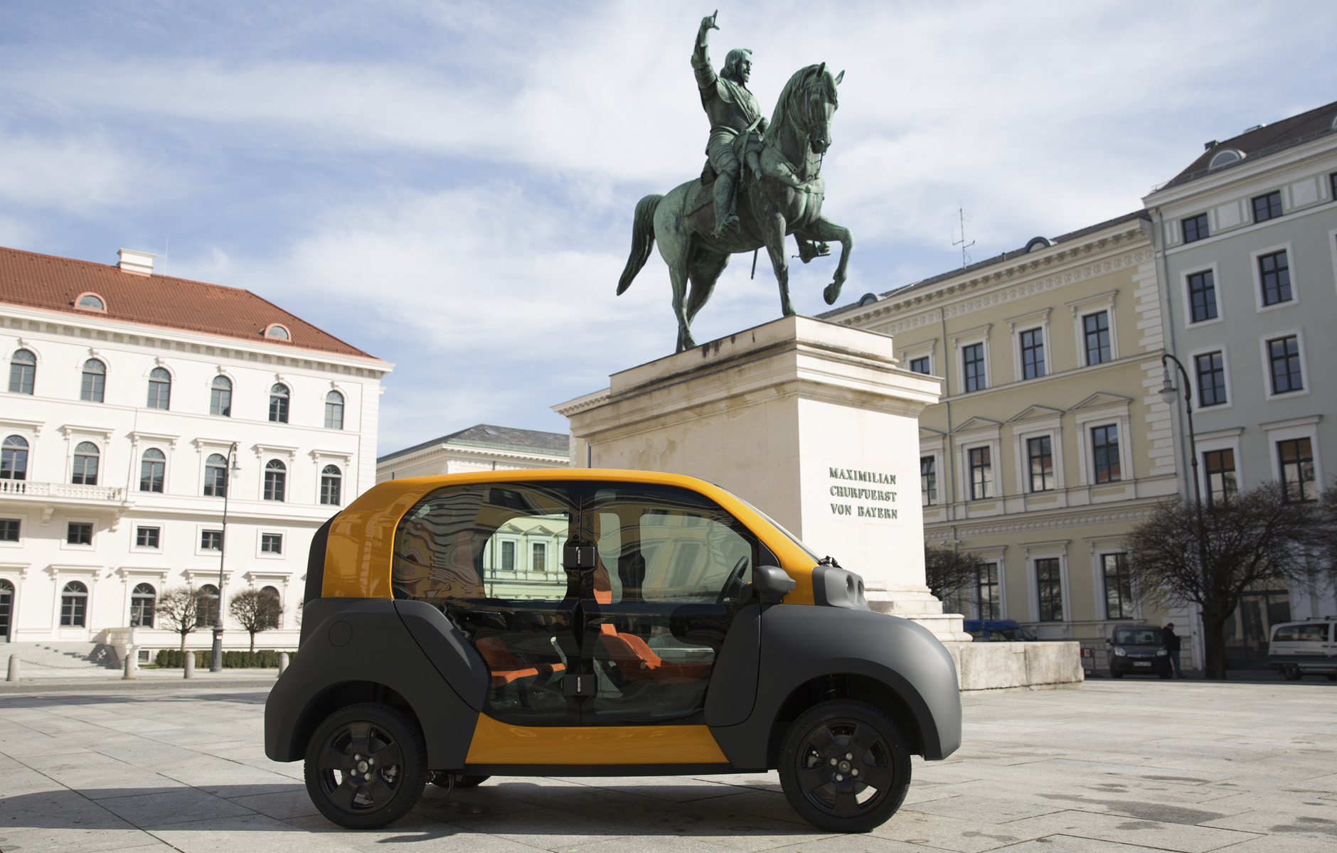 CITY eTAXI Glastüren